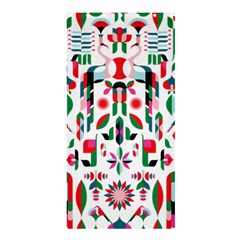 Abstract Peacock Shower Curtain 36  x 72  (Stall)