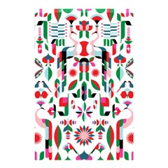 Abstract Peacock Shower Curtain 48  X 72  (small)