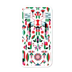 Abstract Peacock Apple Iphone 4 Case (white)