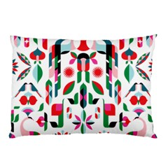 Abstract Peacock Pillow Case (Two Sides)