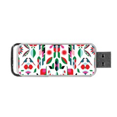 Abstract Peacock Portable Usb Flash (one Side)