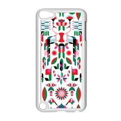 Abstract Peacock Apple Ipod Touch 5 Case (white)
