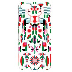 Abstract Peacock Apple iPhone 5 Hardshell Case with Stand