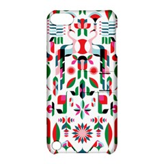 Abstract Peacock Apple Ipod Touch 5 Hardshell Case With Stand