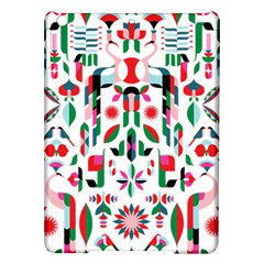 Abstract Peacock iPad Air Hardshell Cases