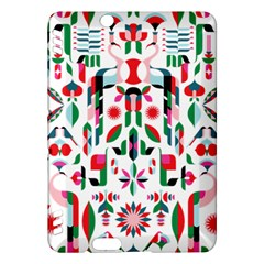 Abstract Peacock Kindle Fire Hdx Hardshell Case