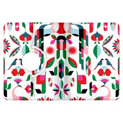 Abstract Peacock Kindle Fire Hdx Flip 360 Case