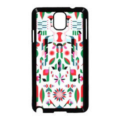 Abstract Peacock Samsung Galaxy Note 3 Neo Hardshell Case (black)