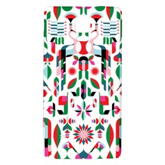 Abstract Peacock Galaxy Note 4 Back Case
