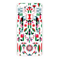 Abstract Peacock Apple Seamless iPhone 6 Plus/6S Plus Case (Transparent)