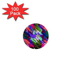 Tropical Jungle Print And Color Trends 1  Mini Magnets (100 Pack)