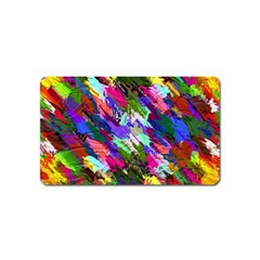 Tropical Jungle Print And Color Trends Magnet (name Card)