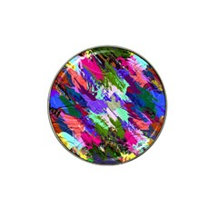 Tropical Jungle Print And Color Trends Hat Clip Ball Marker (4 Pack)