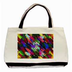 Tropical Jungle Print And Color Trends Basic Tote Bag