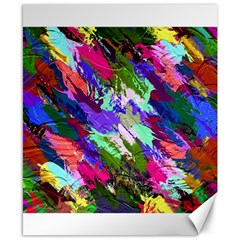 Tropical Jungle Print And Color Trends Canvas 8  X 10