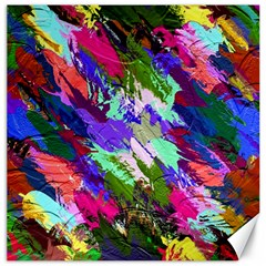 Tropical Jungle Print And Color Trends Canvas 16  X 16