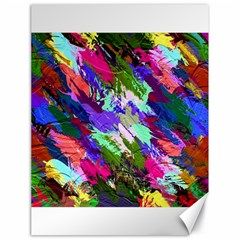 Tropical Jungle Print And Color Trends Canvas 18  x 24