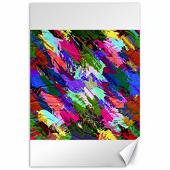 Tropical Jungle Print And Color Trends Canvas 24  X 36
