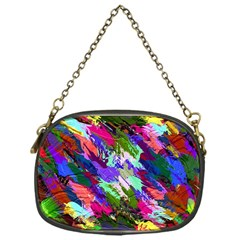 Tropical Jungle Print And Color Trends Chain Purses (one Side)
