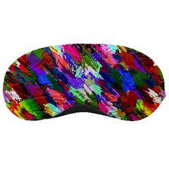Tropical Jungle Print And Color Trends Sleeping Masks