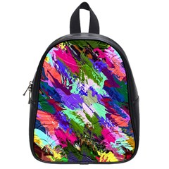 Tropical Jungle Print And Color Trends School Bags (small)
