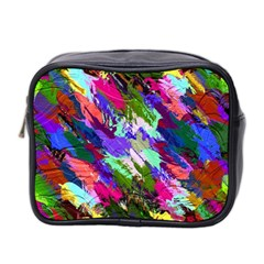 Tropical Jungle Print And Color Trends Mini Toiletries Bag 2 Side