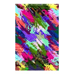 Tropical Jungle Print And Color Trends Shower Curtain 48  X 72  (small)