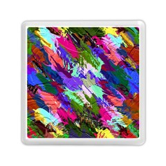 Tropical Jungle Print And Color Trends Memory Card Reader (Square)