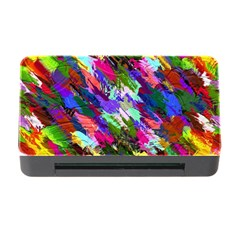 Tropical Jungle Print And Color Trends Memory Card Reader with CF
