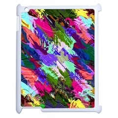 Tropical Jungle Print And Color Trends Apple iPad 2 Case (White)