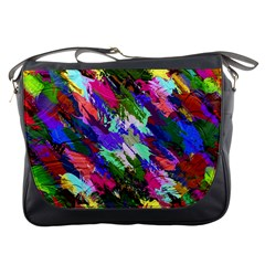 Tropical Jungle Print And Color Trends Messenger Bags