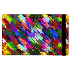 Tropical Jungle Print And Color Trends Apple Ipad 2 Flip Case