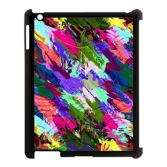 Tropical Jungle Print And Color Trends Apple iPad 3/4 Case (Black)
