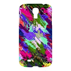 Tropical Jungle Print And Color Trends Samsung Galaxy S4 I9500/I9505 Hardshell Case
