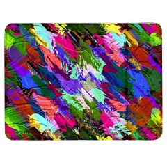 Tropical Jungle Print And Color Trends Samsung Galaxy Tab 7  P1000 Flip Case