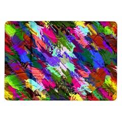Tropical Jungle Print And Color Trends Samsung Galaxy Tab 10 1  P7500 Flip Case