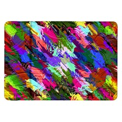 Tropical Jungle Print And Color Trends Samsung Galaxy Tab 8 9  P7300 Flip Case