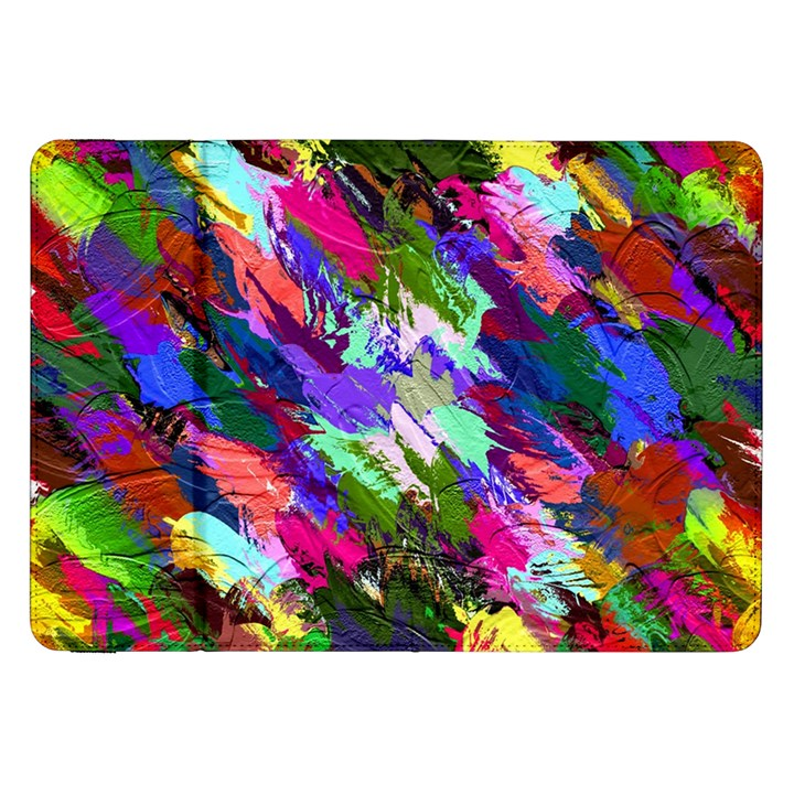 Tropical Jungle Print And Color Trends Samsung Galaxy Tab 8.9  P7300 Flip Case