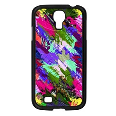 Tropical Jungle Print And Color Trends Samsung Galaxy S4 I9500/ I9505 Case (black)