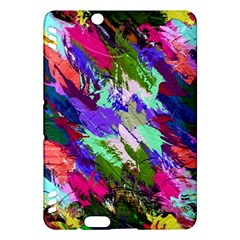 Tropical Jungle Print And Color Trends Kindle Fire HDX Hardshell Case