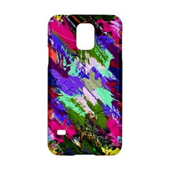 Tropical Jungle Print And Color Trends Samsung Galaxy S5 Hardshell Case