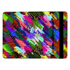 Tropical Jungle Print And Color Trends Samsung Galaxy Tab Pro 12 2  Flip Case