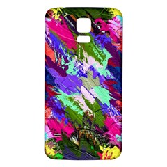 Tropical Jungle Print And Color Trends Samsung Galaxy S5 Back Case (white)