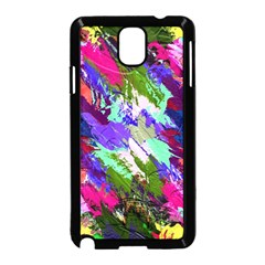 Tropical Jungle Print And Color Trends Samsung Galaxy Note 3 Neo Hardshell Case (black)