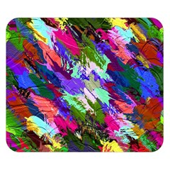 Tropical Jungle Print And Color Trends Double Sided Flano Blanket (Small)