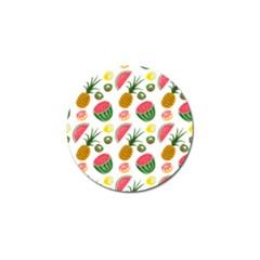 Fruits Pattern Golf Ball Marker