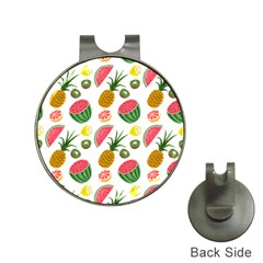 Fruits Pattern Hat Clips with Golf Markers