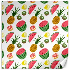 Fruits Pattern Canvas 16  X 16