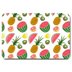 Fruits Pattern Large Doormat