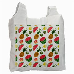 Fruits Pattern Recycle Bag (Two Side)